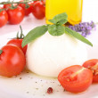 Tomato and mozzarella — Stock Photo #8737358
