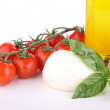 Stock Photo: Mozzarella