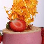 Strawberry dessert — Stock Photo #8782331