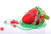 Strawberry dessert — Stockfoto