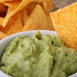 Stock Photo: Guacamole and chips