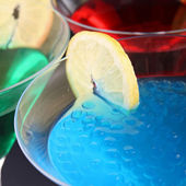 Closeup on cocktail — Stock Photo