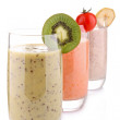 Stock Photo: Isolated smoothies