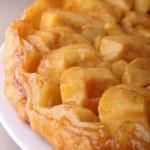 Gourmet tart tatin — Stock Photo