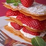 Strawberry dessert — Stock Photo #8846399