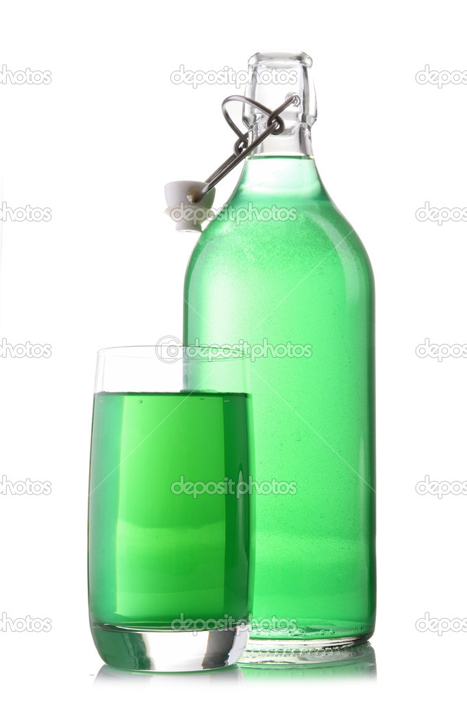 Isolated syrup — Stock Photo #8847495