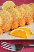 Delicious sponge cake — Zdjęcie stockowe