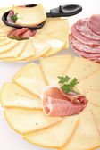 Cheese raclette — Stock Photo