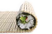 Sushi preparation — Stock Photo