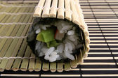 Sushi preparation — Stock Photo