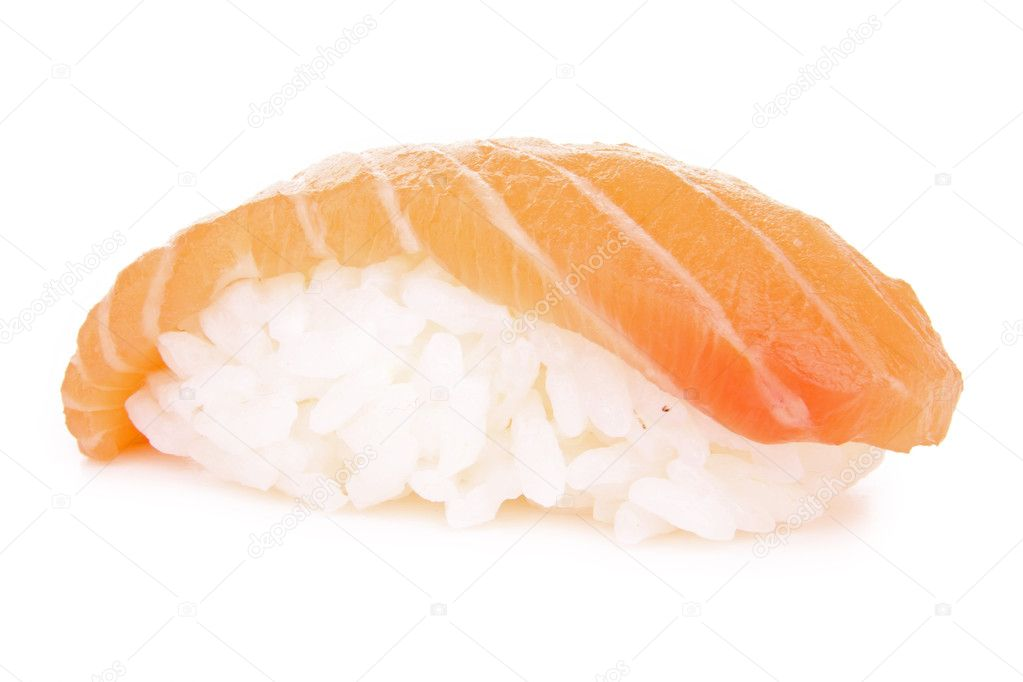 Isolated sushi — Stock Photo #8896023