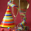 Champagne glasses — Stock Photo #9027395