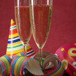 Champagne glasses — Stock Photo #9027400