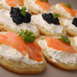 Stock Photo: Finger food,canapes