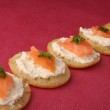 Finger food,canapes — Stock Photo #9066145