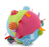 Isolated baby ball — Stock Photo