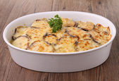 Gourmet of moussaka — Stock Photo
