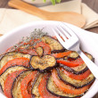 Baked vegetables — Stock Photo #9483445