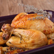 Roasted chicken — Stock Photo #9562796