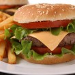 Hamburger — Stock Photo #9574345
