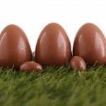 Chocolate egg — Stock Photo