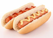 Isolated hot dog — Stock Photo