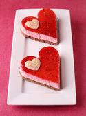 Valentine cake — Stock Photo