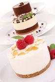 Assortment of dessert — Stock Photo