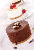 Auswahl von dessert — Stockfoto