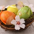 Easter nest — Stock Photo #9778756