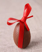 Easter chocolate egg — Stock Photo