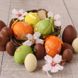 Stock Photo: Easter nest and egg