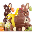 Chocolate easter — Stock Photo #9886048
