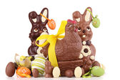 Chocolate easter — Stock Photo