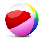 Beach Ball — Stock Vector