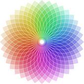 Shaped chromatic circle — Stock Vector