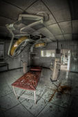 Abandoned surgery room — Stock Photo