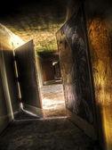 Abandoned hallway — Stock Photo