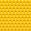 Honeycomb texture - Stock Vector