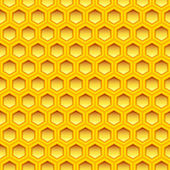 Honeycomb texture — Stock Vector
