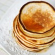 Royalty-Free Stock Photo: Stack of pancakes maple syrup