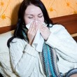 Stock Photo: Illness