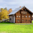 Stock Photo: Old wood house