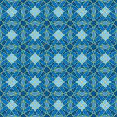 Sömlös färgglada retro mönster bakgrund — Stockvektor