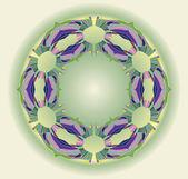Ornamental ethnicity pattern — Stock Photo