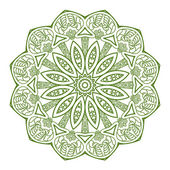 Ornamental pattern — Stock Photo