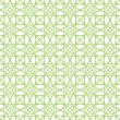 Vector seamless green guilloche background - Imagen vectorial
