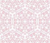 Nahtlose-tapete mit floralen ornament — Stockvektor
