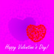 St. Valentine's Day background — Stock Photo