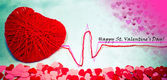 St. Valentine's greeting — Stock Photo